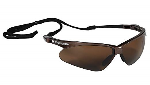 5535cbb7278 Our pick must be the Jackson Safety V30 Nemesis Polarized Safety Glasses  due to the comfort and functionality they provide. They protect the eyes  from all ...