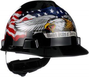 MSA American Eagle V-Gard Slotted Hard Hat