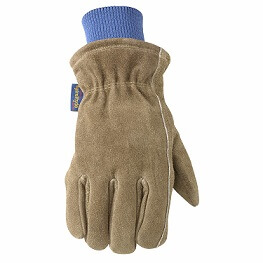 HydraHyde Insulated Split Leather Winter Work Gloves