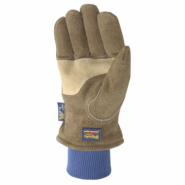 Men's HydraHyde Insulated Split Leather Winter Work Gloves