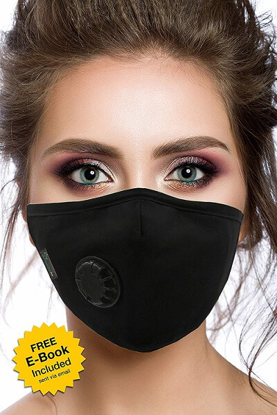 Air Pollution Cotton Face Mask