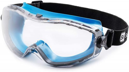 Safety Glasses with Clear, Fog-Free, Anti Scratch and UV Protection