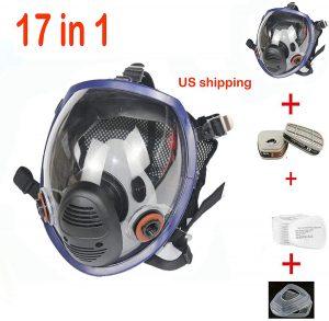 17in 1 Full Face Respirator