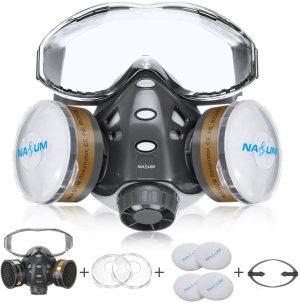 NASUM 8200 Reusable Half Face Cover
