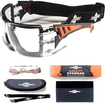 ToolFreak Rip Out Safety Glasses with Foam Padding