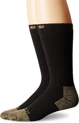Carhartt Men's Cushion Steel-Toe Cotton Work Boot Socks