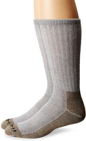 Carhartt Men's Cushion Steel-Toe Synthetic Work Boot Socks