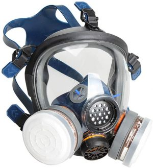 Champagne Town's Organic Vapour Full Face Respirator Mask