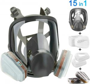 HAOX 15in1 Full Face Large Size Respirator