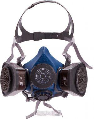 Induschoice Anti-dust Spray Chemical Gas Dual Cartridge Respirator Paint Filter Mask