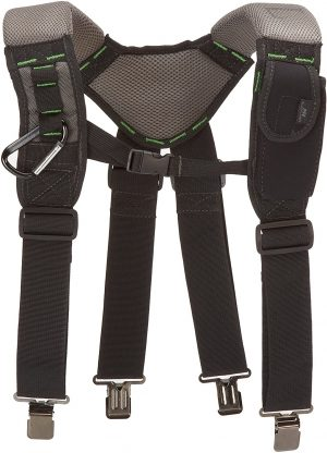 McGuire-Nicholas 30289 Bl- Load Bearing Gelfoam Suspenders