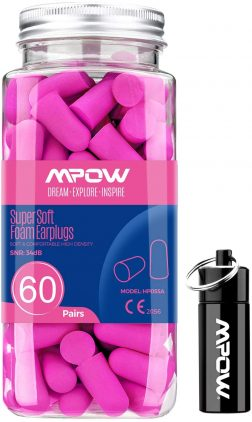 Mpow 055A Ear Plugs For Small Ears 60 Pairs