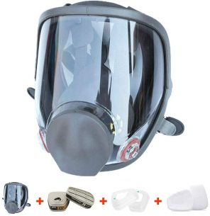 RoofWorld 15 in 1 Gas Mask Full Face Facepiece Respirator