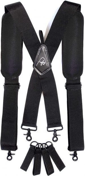 ToolsGold Tool Belt Heavy-Duty Men's Work Suspenders
