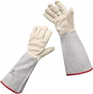 Euphoria Garden Thornproof Leather Gloves for Yard Work
