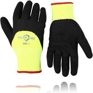 Golden Scute Glove