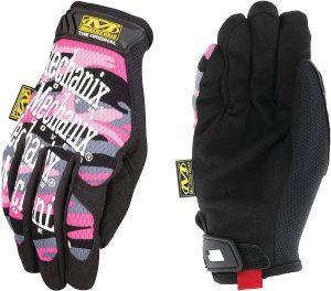 Mechanix Wear Women's Original Pink Camo Gloves