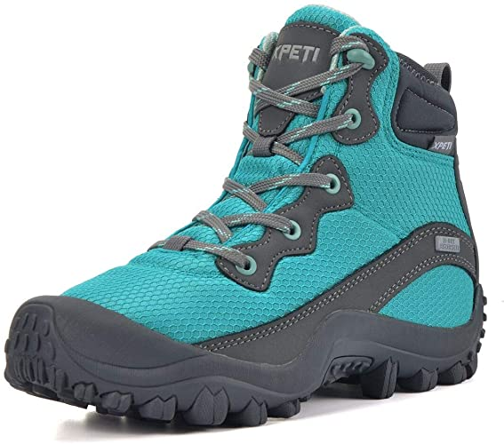 SKENARY Women's Dimo Hiking Boots, Mid Waterproof Trekking Outdoor Boot