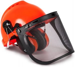 Industrial TR88011 Hard Hat Forestry Safety Helmet & Ear Muffs