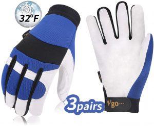 Vgo C40 Leather Gloves