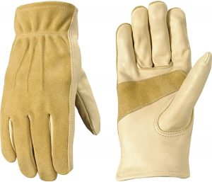 Wells Lamont Women's Leather Work and Garden Gloves (1124S)