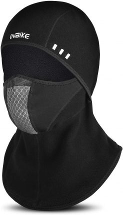 INBIKE Balaclava Face Mask, Polar Fleece Windproof Outdoor Sports Warm Balaclava for Men Women