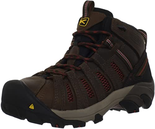 Keen Utility Men's Flint Mid Work Boot For Hot Weather