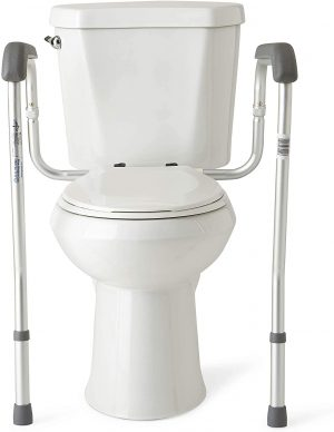 Medline Toilet Safety Rails and Frame