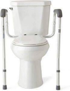 Medline Toilet Safety Rails and Frame