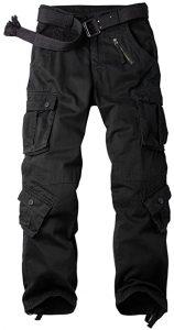 OCHENTA Men's Casual Military Cargo Pants