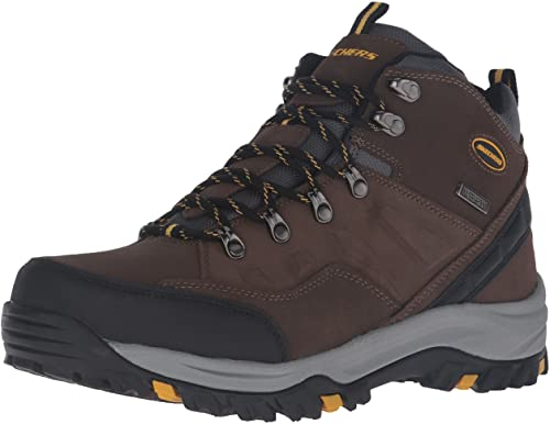 Skecher's Men's Relment Pelmo Chukka Waterproof Safety Boot