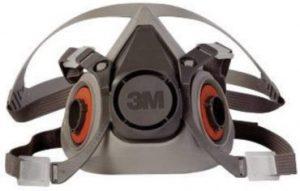 3M Safety 6000 Series Reusable Half Face Mask Respirator
