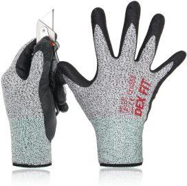 DEX FIT Level 5 Cut Chemical Resistant Gloves