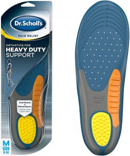 Dr. Scholl's Heavy-Duty Support Insoles for Work Boots on Concrete