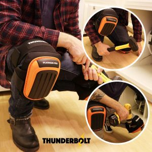 Knee Pads for Flooring by Thunderbolt for Construction