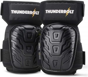 Thunderbolt Knee Pads for for Construction Workers