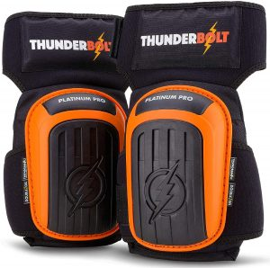 Thunderbolt Platinum Pro Double Gel Knee Pads