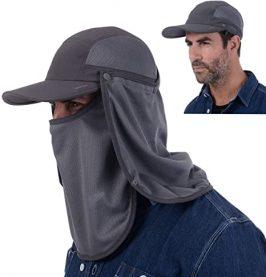 USHAKE Sun Cap Fishing Hat
