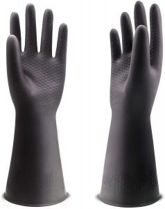 UXglove Chemical Resistant Latex Gloves